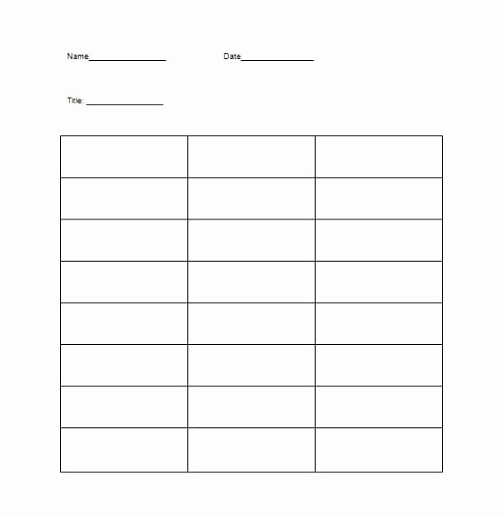 T Chart Template Pdf New 6 T Chart Template for Word Waoay