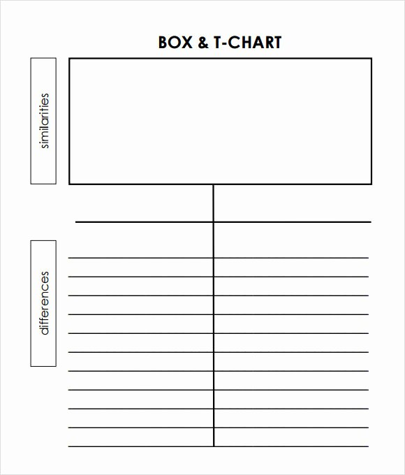 T Chart Template Word Elegant Sample T Chart Template 7 Documents In Pdf Word