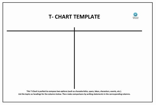 T Chart Template Word New How to Create A T Chart In Microsoft Word Quora