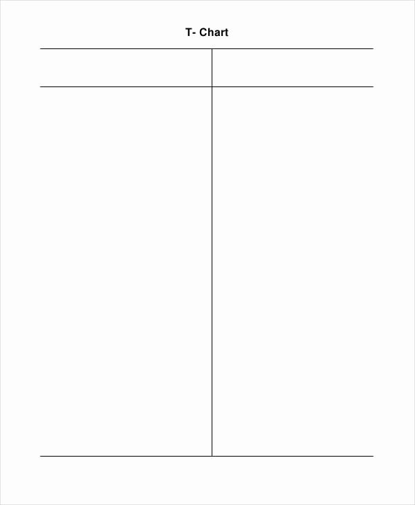 T Chart Template Word New T Chart Template
