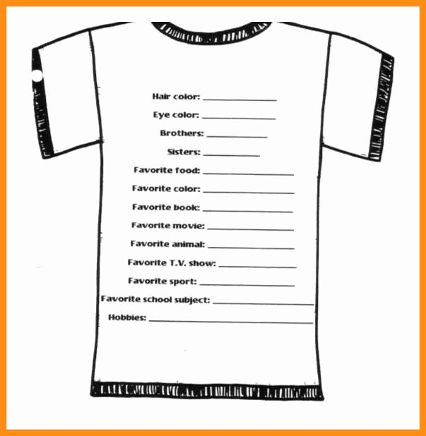 T Shirt order Template Elegant 9 Custom T Shirt order form Template
