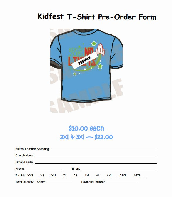 T Shirt order Template New 26 T Shirt order form Templates Pdf Doc