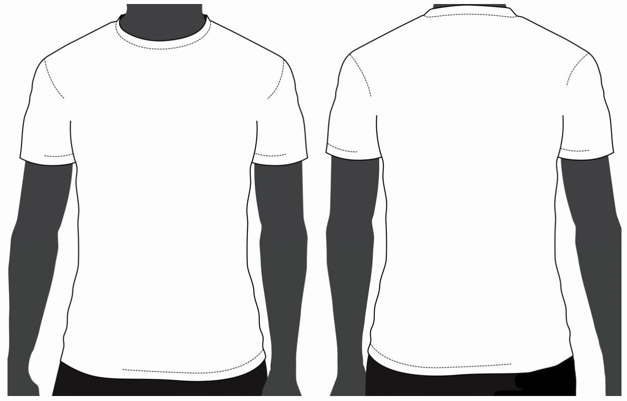 T Shirt Photoshop Template Beautiful T Shirt Template Psd Free Download
