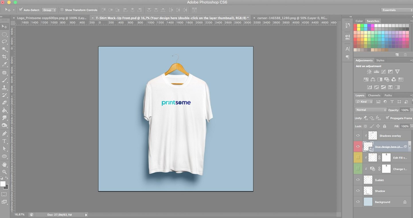 T Shirt Photoshop Template Elegant How to Use A T Shirt Template On Shop the Right Way