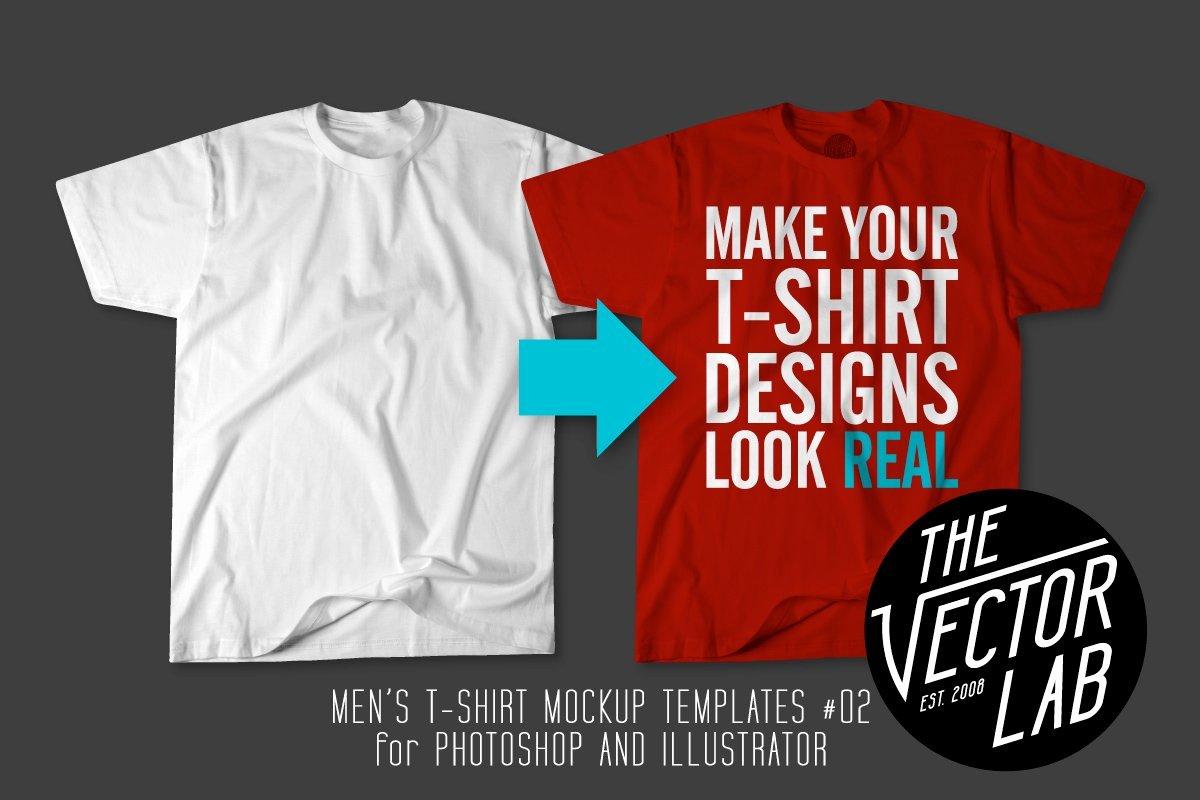 T Shirt Photoshop Template Elegant Men S T Shirt Templates 02 Product Mockups Creative