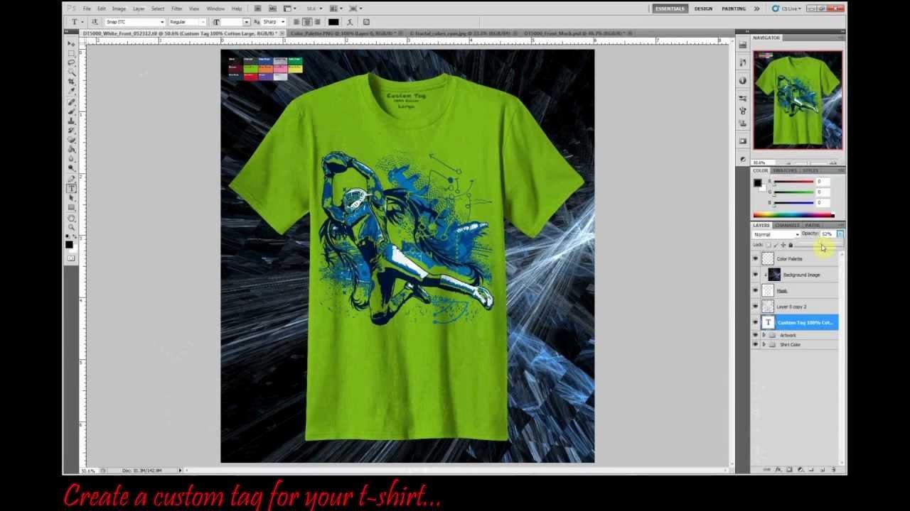 T Shirt Photoshop Template Fresh Professional T Shirt Mock Up Template Using Shop Cs5