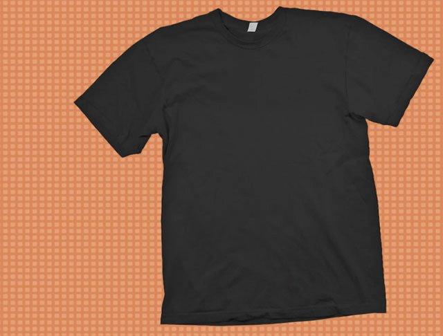 T Shirt Photoshop Template Lovely Black T Shirt Template Psd