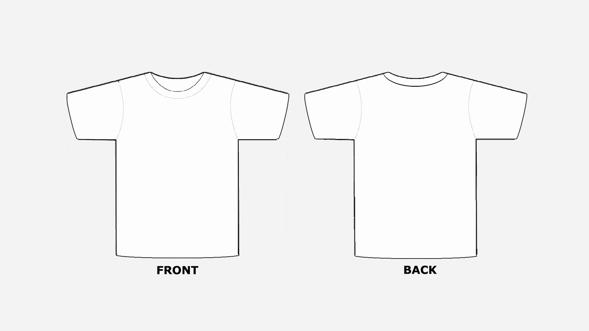 T Shirt Photoshop Template Lovely Blank Tshirt Template Printable In Hd Hd Wallpapers