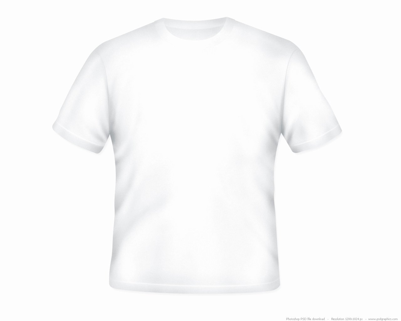 T Shirt Photoshop Template Lovely Blank White T Shirt Psd