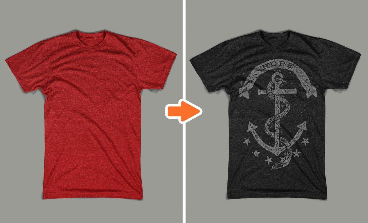 T Shirt Photoshop Template Lovely Shop Men S Tri Blend Mockup Templates Pack