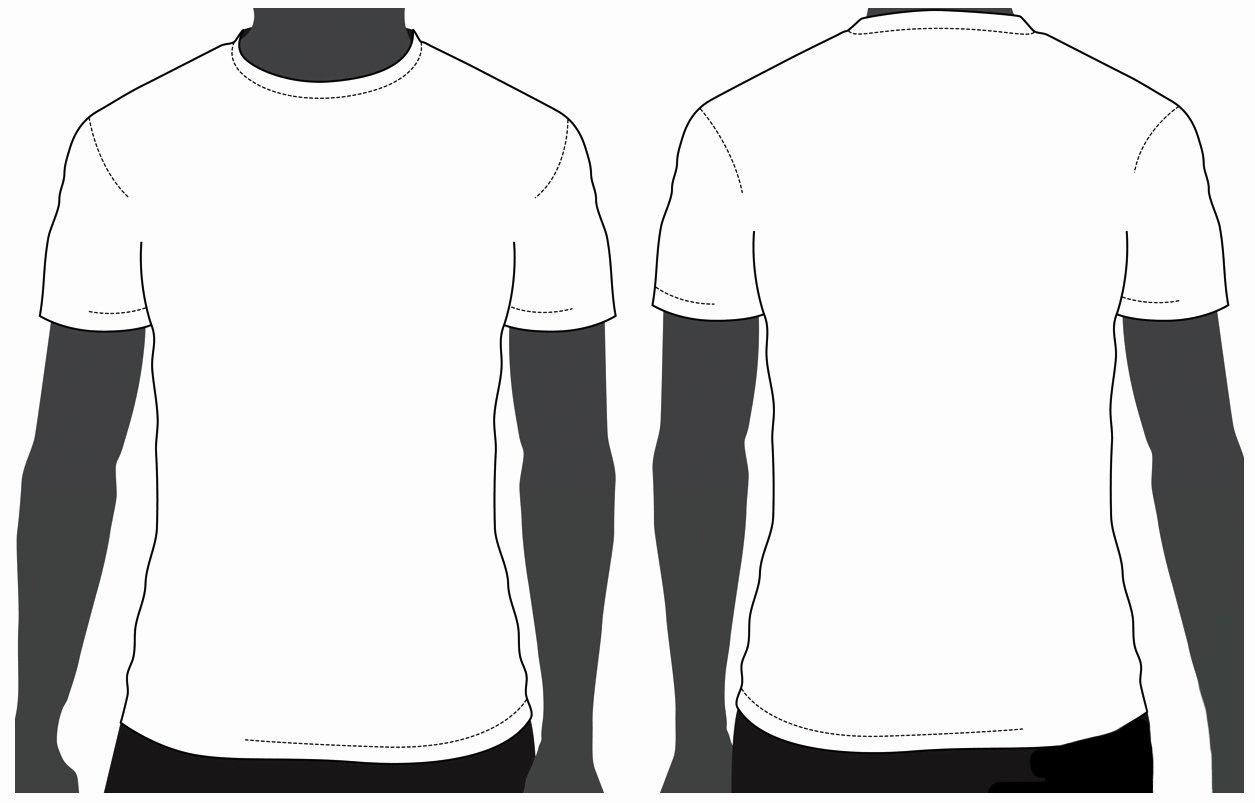 T Shirt Photoshop Template Lovely Tshirt Design Template Clipart Best