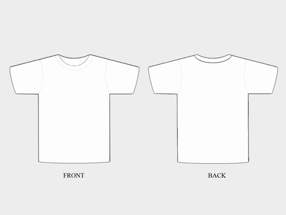 21 blank t shirt vector templates free to