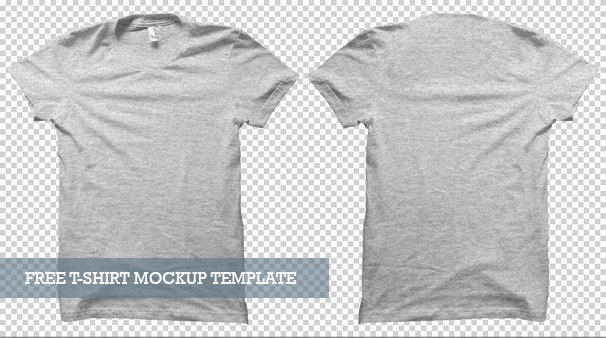 T Shirt Photoshop Template New 20 Free T Shirt Mockups for Designers