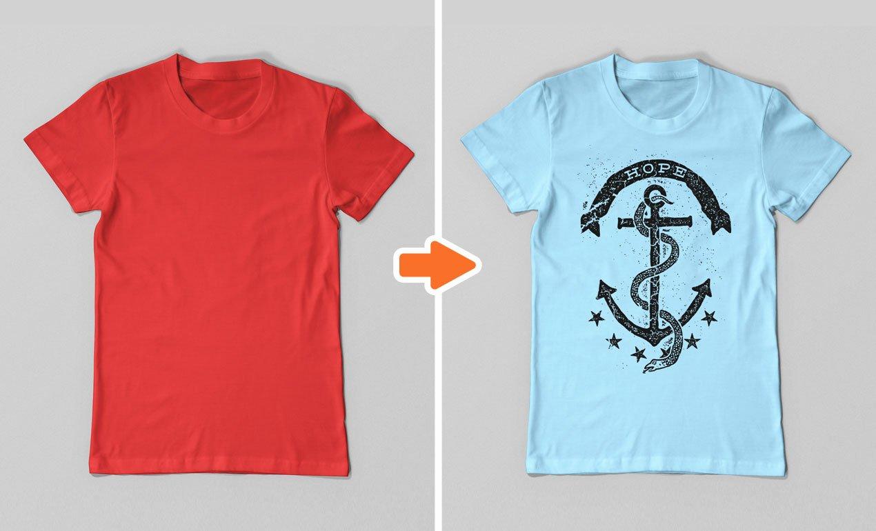 T Shirt Template for Photoshop Beautiful T Shirt Shop Templates