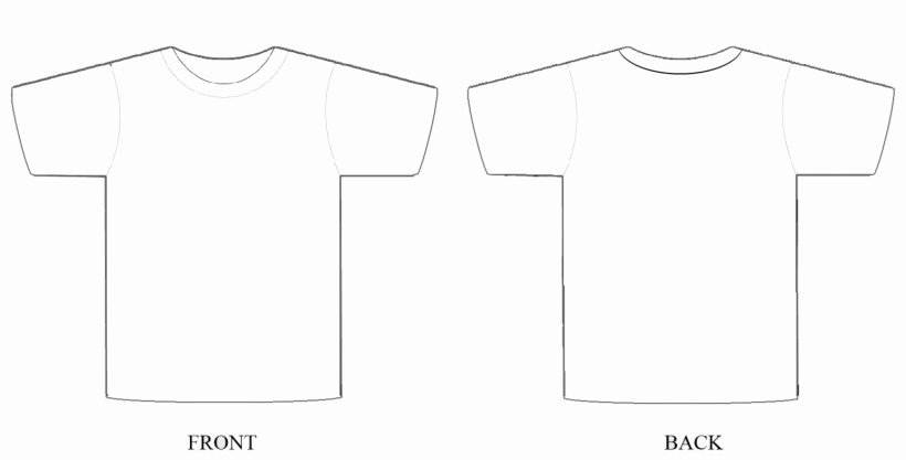 T Shirt Template for Photoshop Best Of T Shirt Template Psd Regarding T Shirt Template Shop