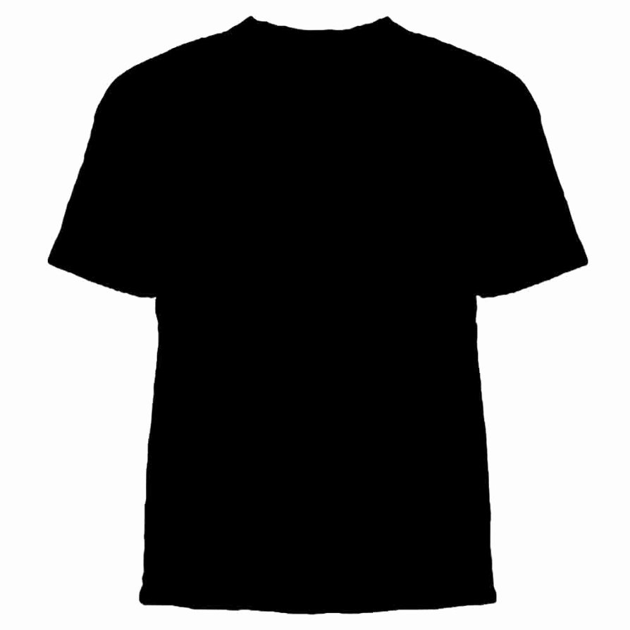 T Shirt Template for Photoshop Elegant 15 Psd T Shirt Template Front and Back Black T