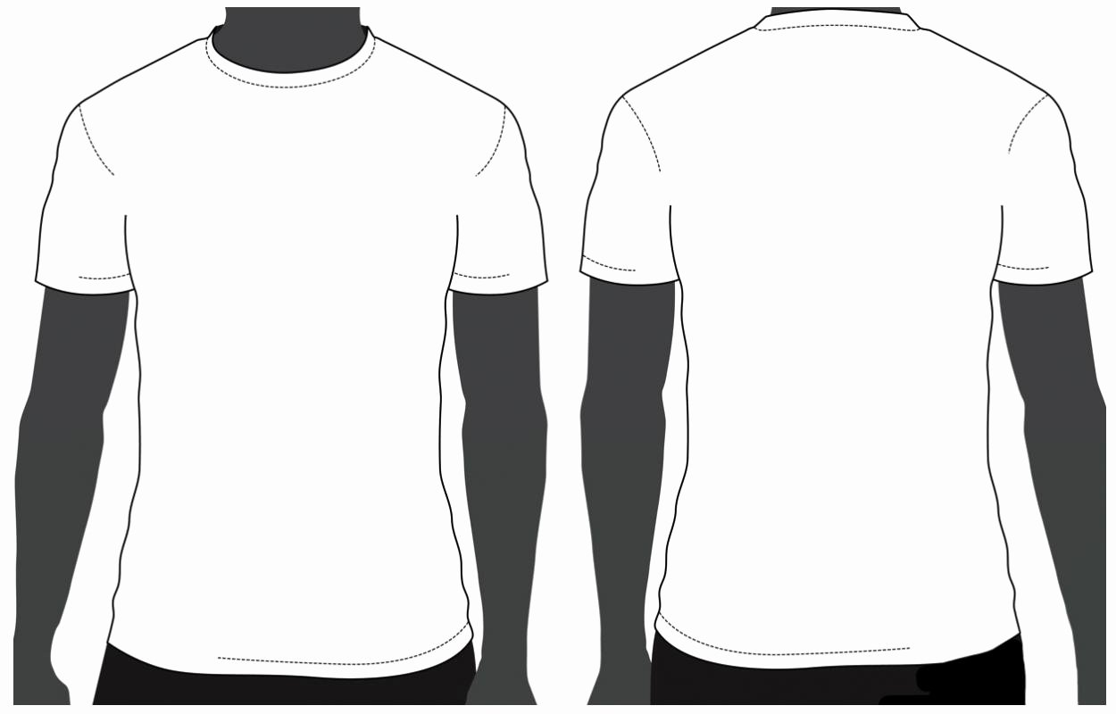 T Shirt Template for Photoshop Lovely T Shirt Template Psd Free Download
