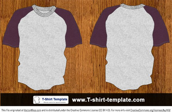 T Shirt Template for Photoshop Luxury T Shirt Template Photoshop Free Vector for Free