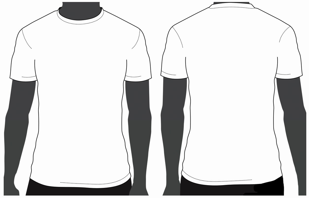 T Shirt Template for Photoshop Luxury Tshirt Design Template Clipart Best