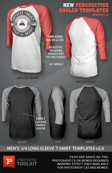 T Shirt Template for Photoshop Unique Ghosted 3 4 Long Sleeved T Shirt Design Template Psd