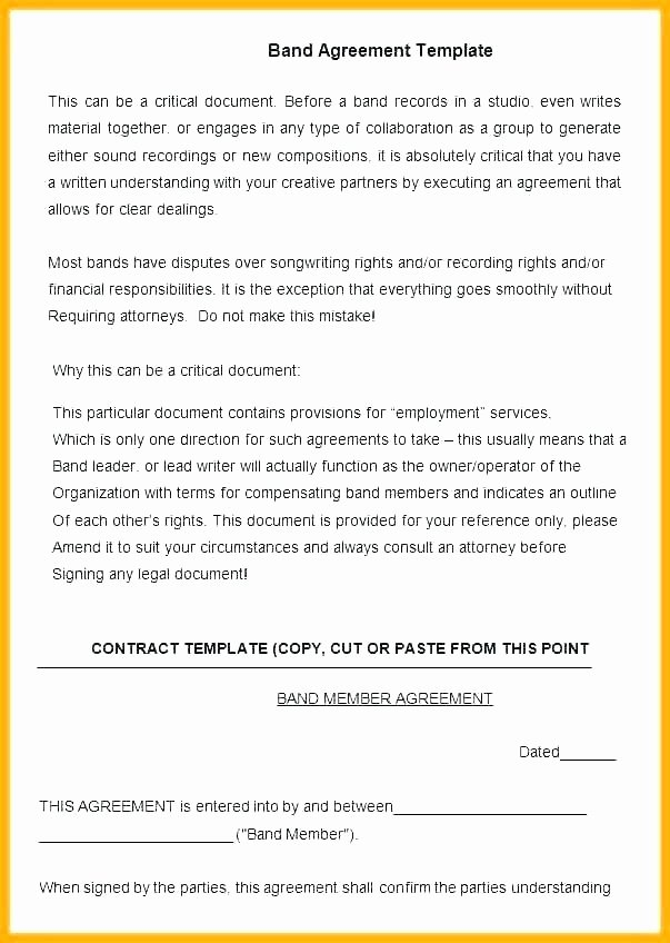 Talent Management Contract Template Fresh Artist Management Contract Template Agreement Next Project
