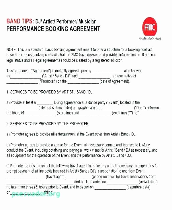 Talent Management Contract Template Inspirational Talent Contract Template – Vitaesalute