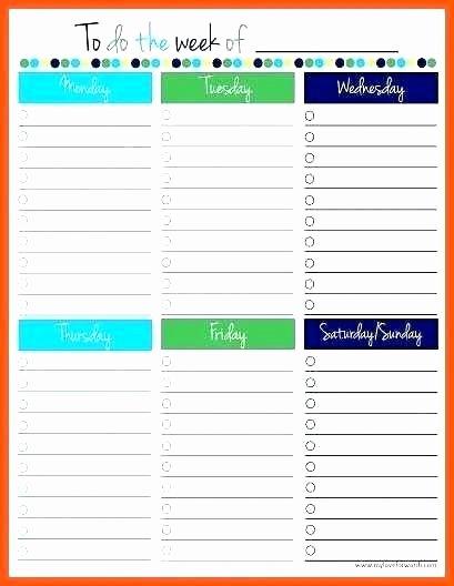 Task List Template Word Elegant Things to Do List Template Pdf Task Word Weekly todo