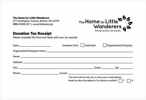 Tax Deductible Donation Receipt Template Beautiful 23 Donation Receipt Templates – Pdf Word Excel Pages