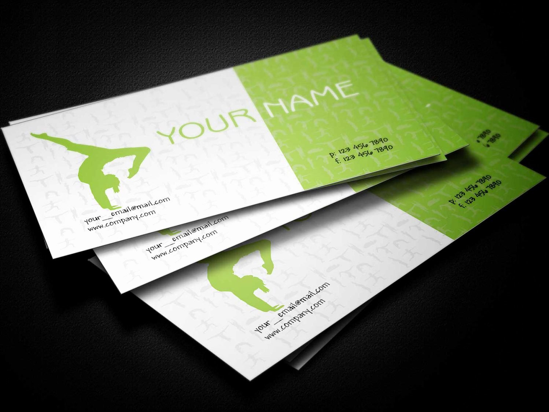 Teacher Business Card Template Awesome Yoga Teacher Business Card Template Business Cards Lab