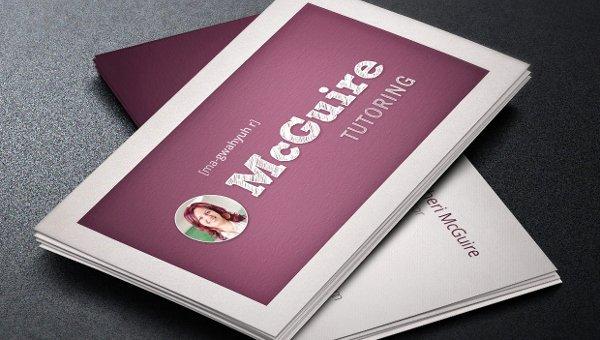 Teacher Business Card Template Beautiful 21 Teacher Business Card Templates Free & Premium Download