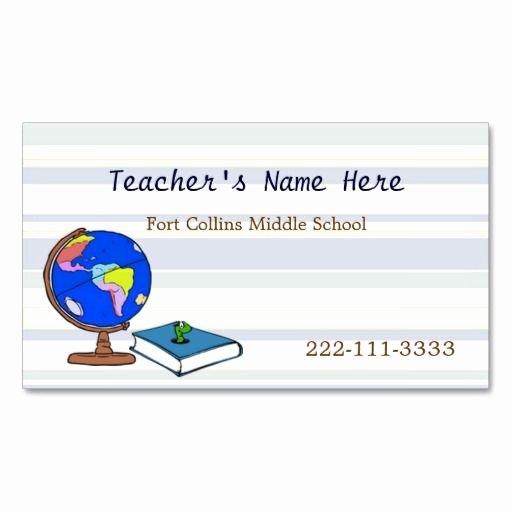 Teacher Business Card Template Beautiful 332 Best Images About Teacher Business Card Templates On