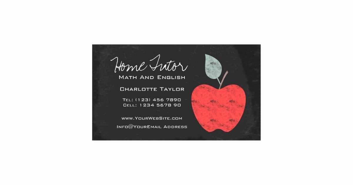 Teacher Business Card Template Beautiful Substitute Teacher Business Card Og28 – Advancedmassagebysara