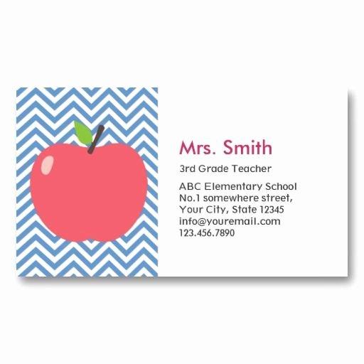 Teacher Business Card Template Best Of Best 25 Teacher Business Cards Ideas On Pinterest