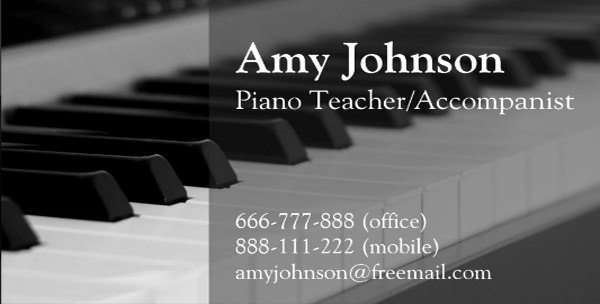 Teacher Business Card Template Luxury Business Cards for Teachers 51 Free Psd format Download