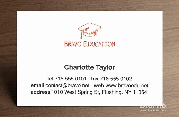 Teacher Business Card Template Unique Best 25 Business Cards Canada Ideas On Pinterest