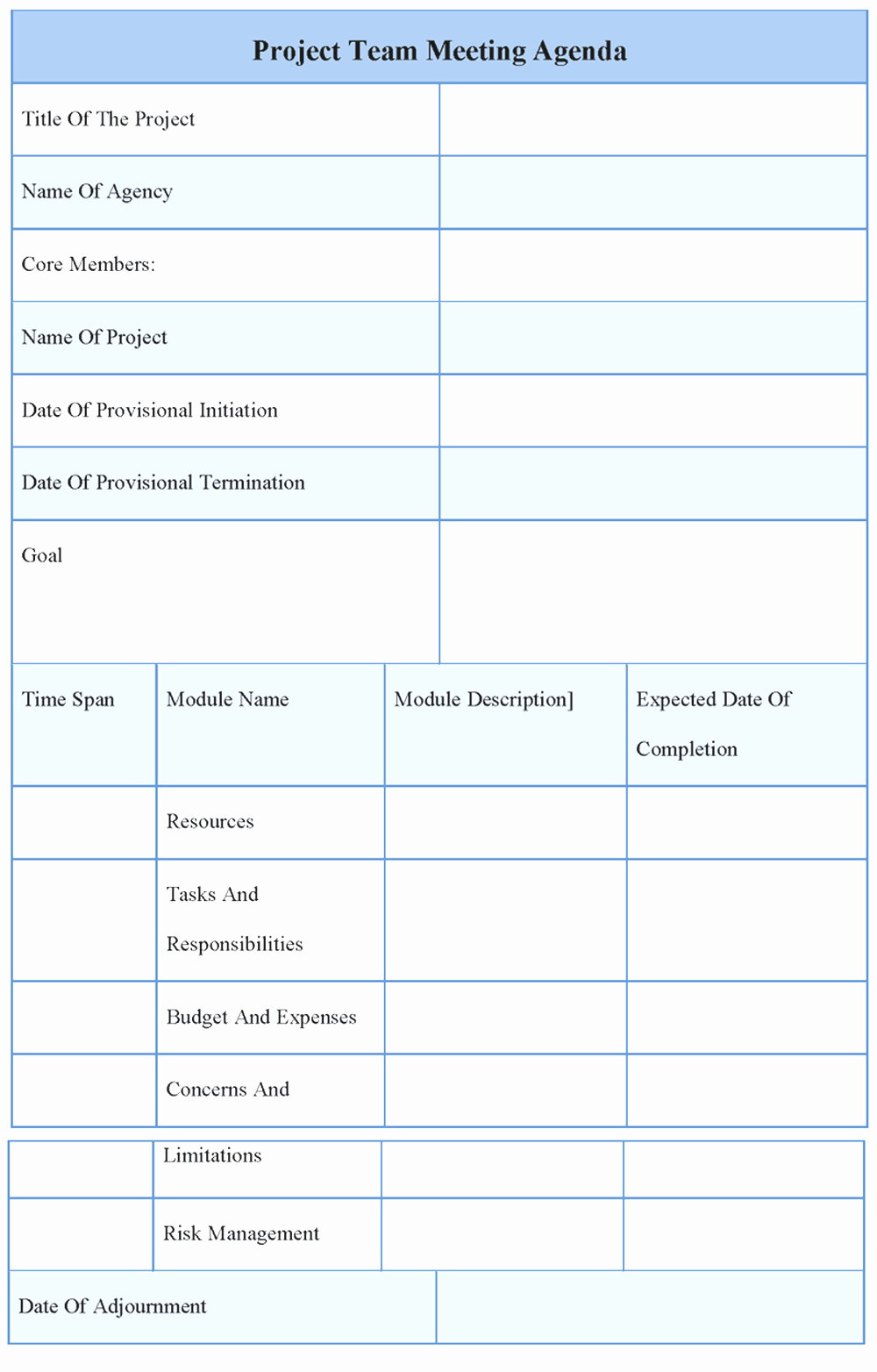 Team Meeting Agenda Template Beautiful Agenda Template Word Example Mughals
