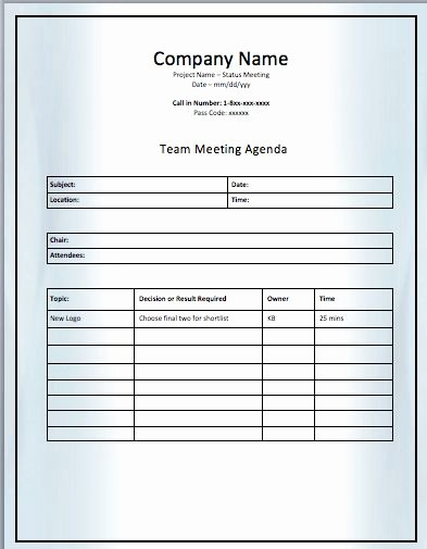 Team Meeting Agenda Template Elegant 11 Best Agenda Templates Images On Pinterest