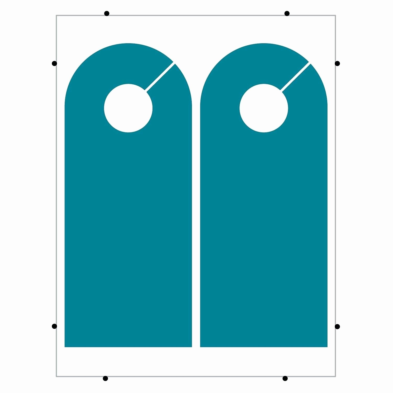 Template for Door Hanger Elegant Blank Door Hangers & Door Knob Hangers Blank Seton Blank