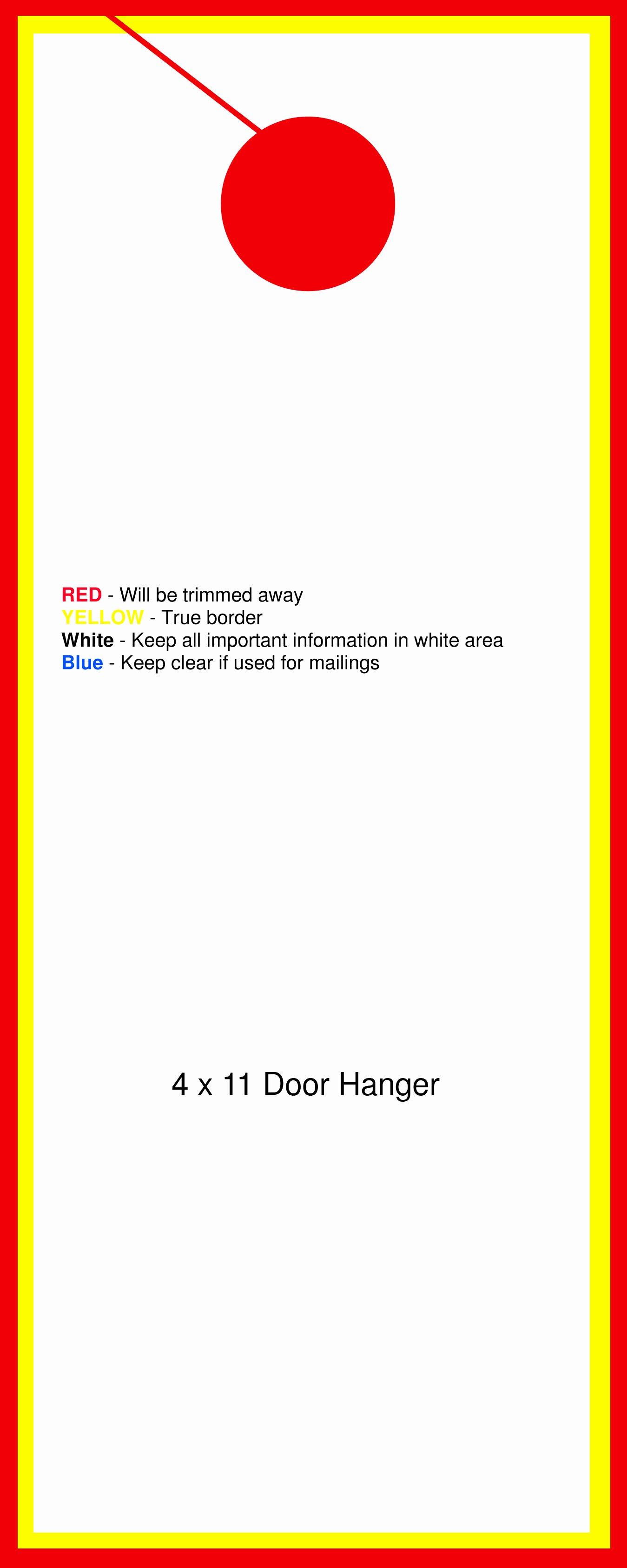 Template for Door Hanger Inspirational Door Templates & Door Hanger Pattern Use the Printable