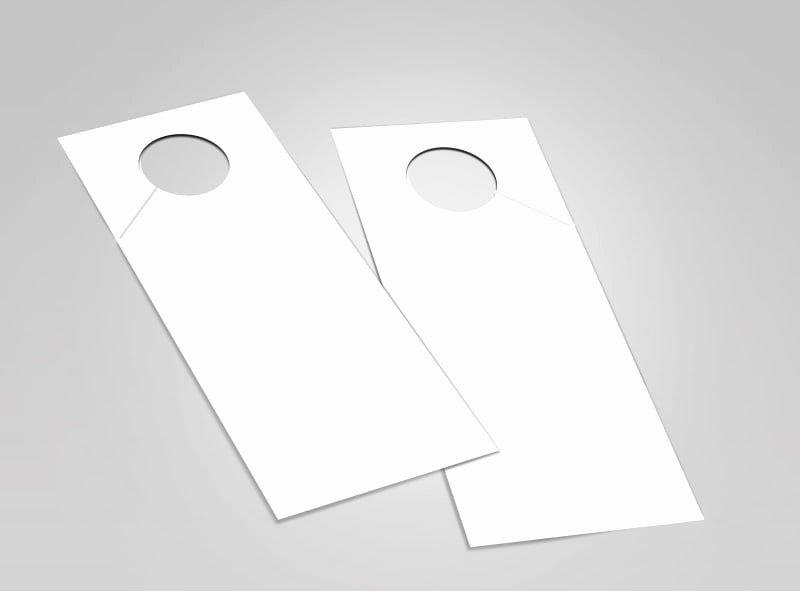 Template for Door Hanger Unique Blank Door Hanger Templates