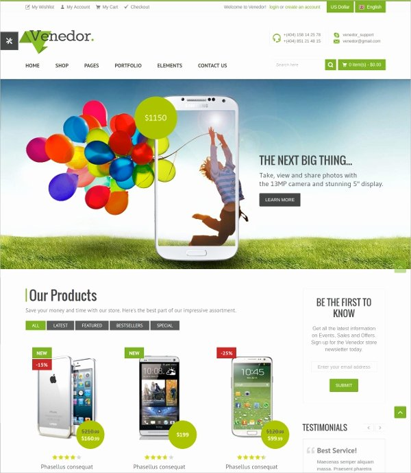Template for Ecommerce Website Beautiful 19 E Merce Bootstrap themes & Templates