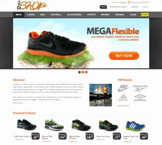 Template for Ecommerce Website Beautiful Download 40 Free HTML E Merce Website Templates Xdesigns