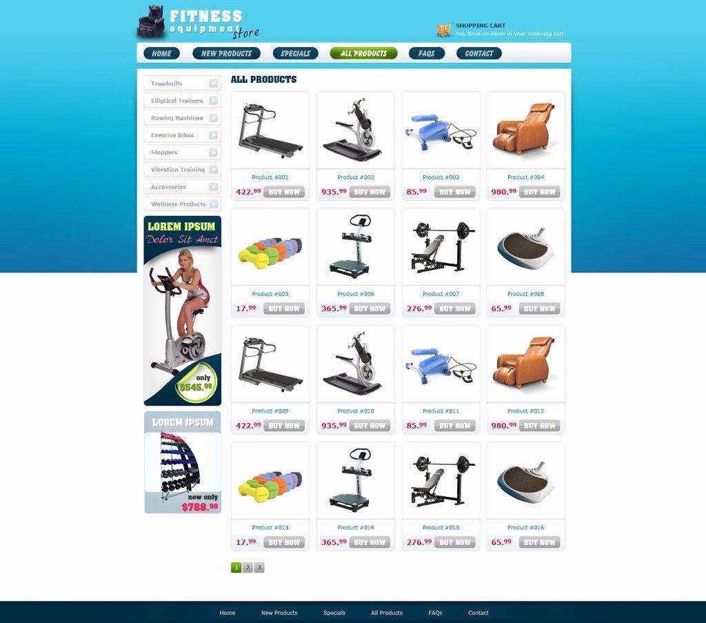 Template for Ecommerce Website Beautiful Free E Merce Website Template