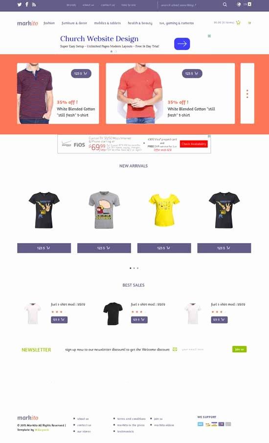 Template for Ecommerce Website Best Of 50 Best E Merce Website Templates Free & Premium