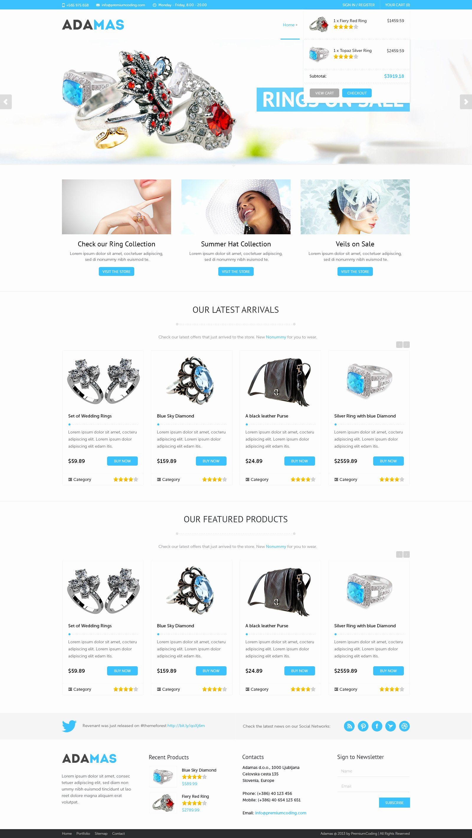 Template for Ecommerce Website Elegant 120 Free Psd Website Templates