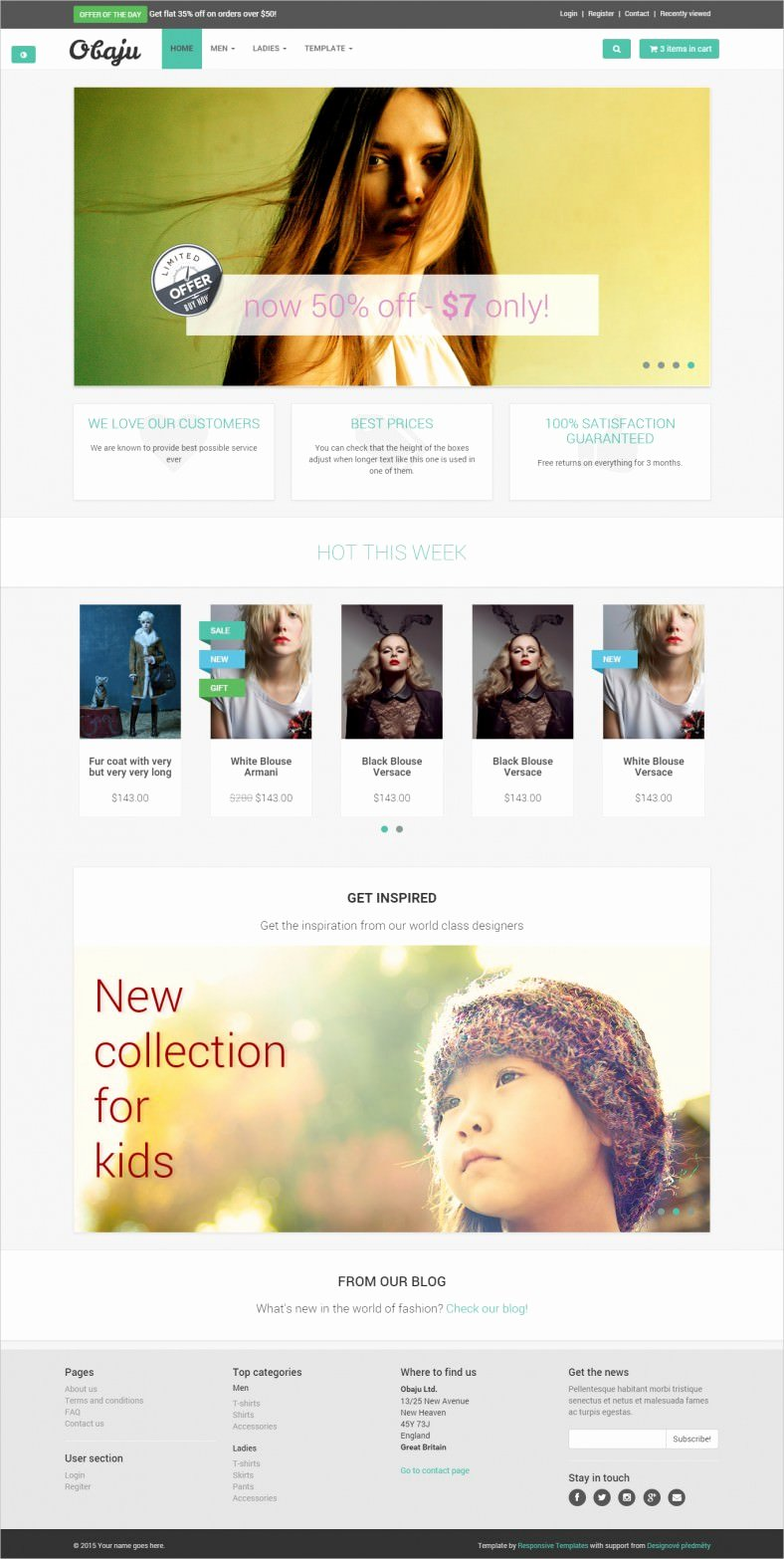 Template for Ecommerce Website Elegant 9 Free E Merce Website Templates