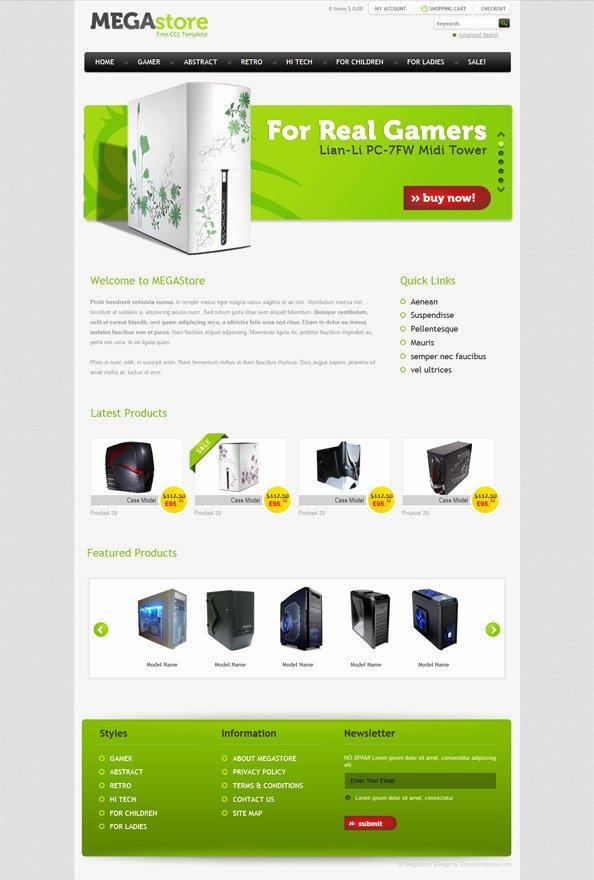 Template for Ecommerce Website Elegant Free E Merce Website Css Template for software and