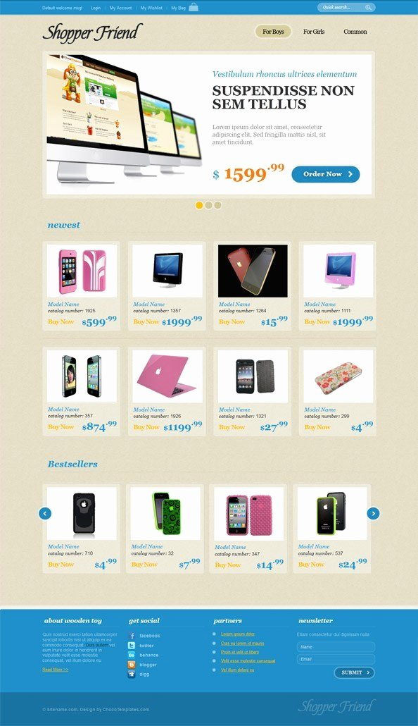 Template for Ecommerce Website Fresh E Merce Website Css Template with Jquery Slider