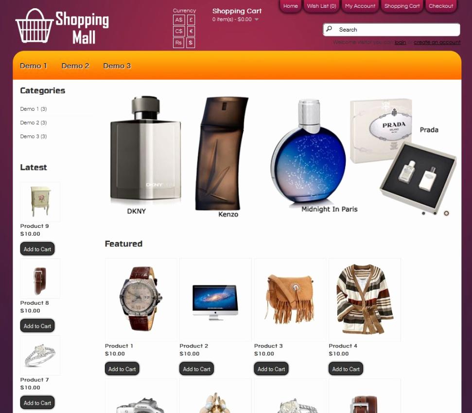 Template for Ecommerce Website Fresh E Merce Website Templates
