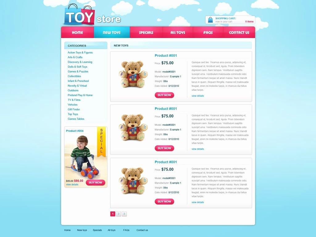 Template for Ecommerce Website Inspirational Free E Merce Website Template
